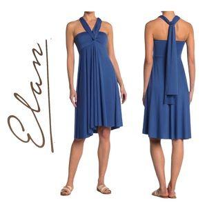 ELAN Convertible Blue Women's Skirt Dress